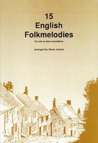 15 English Folkmelodies for one or more accordions