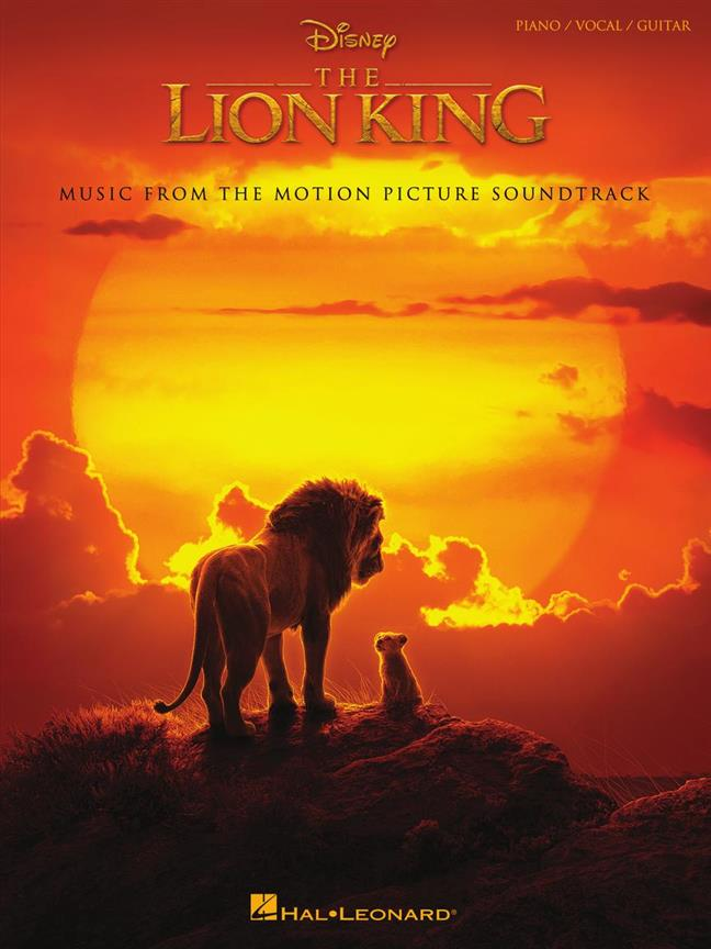 Disney The Lion King  (Piano/Vocal/Gitaar/Keyboard/Accordeon)