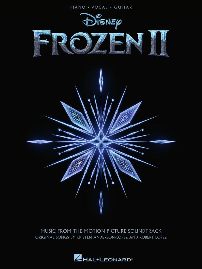 Disney Frozen II (Piano/Vocal/Gitaar/Accordeon/Keyboard)