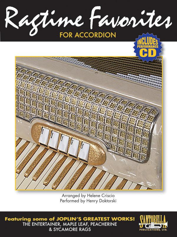Ragtime Favorites for Accordion (Incl. CD)